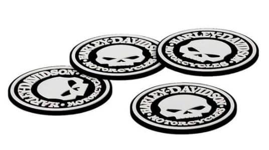 Harley Skull Coasters - HDL-18522