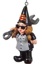 3OT1902GMD 3OT4902GMC Harley Female Mechanic Gnome Ornament