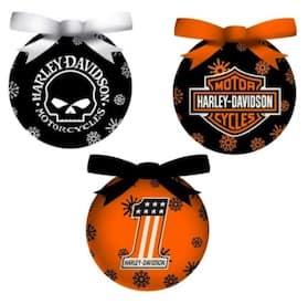 3OT4900LED Harley LED Ornament Set