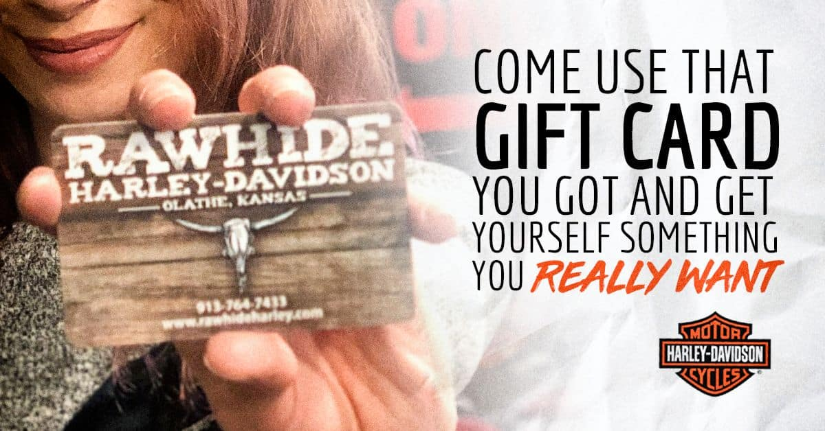 It's time to use that gift card