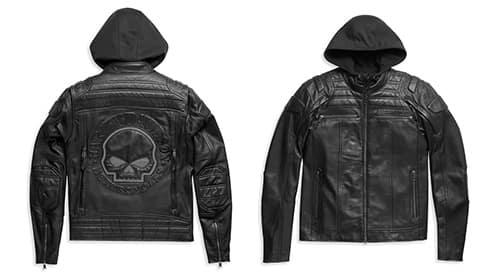 Harley Men's Auroral II 3-in-1 Leather Jacket # 98003-21VM