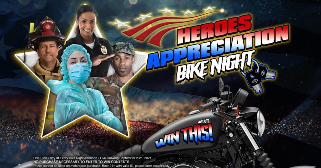 Heroes Appreciation Bike Night