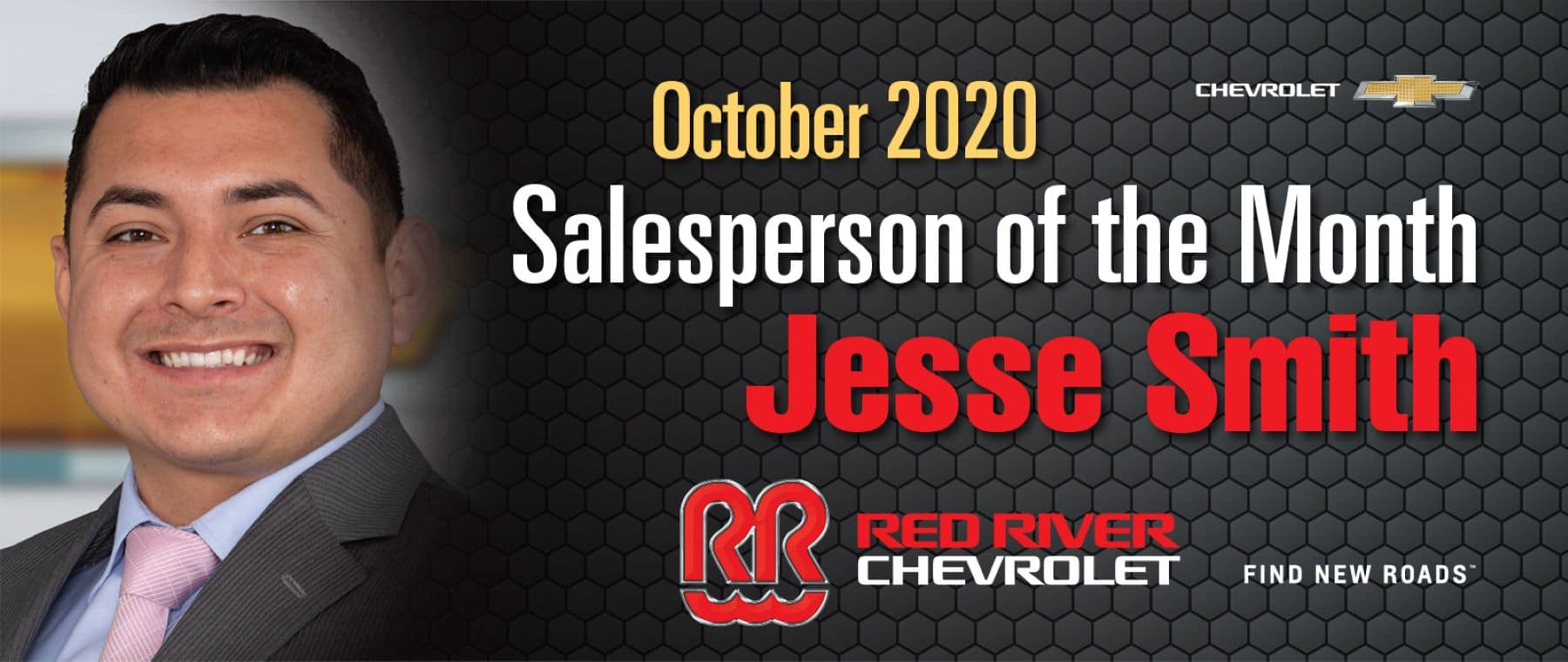 Salesperson of the Month October 2020