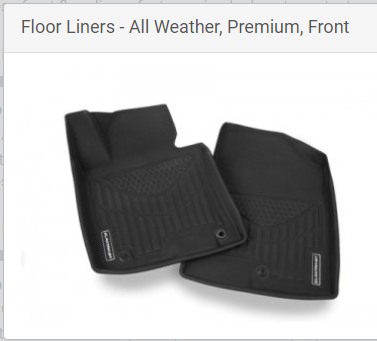 Floor liners