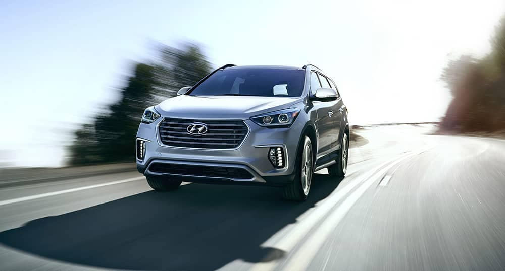 2019 Hyundai Santa Fe XL Driving