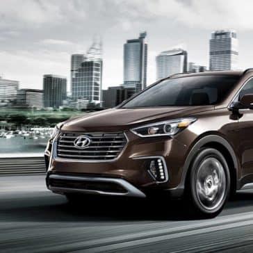 2019 Hyundai Santa Fe XL Brown