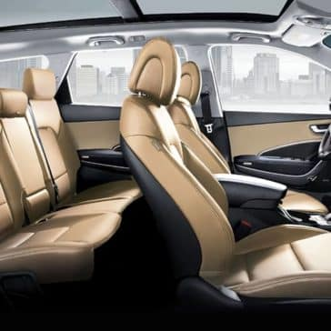 2019 Hyundai Santa Fe XL Seating