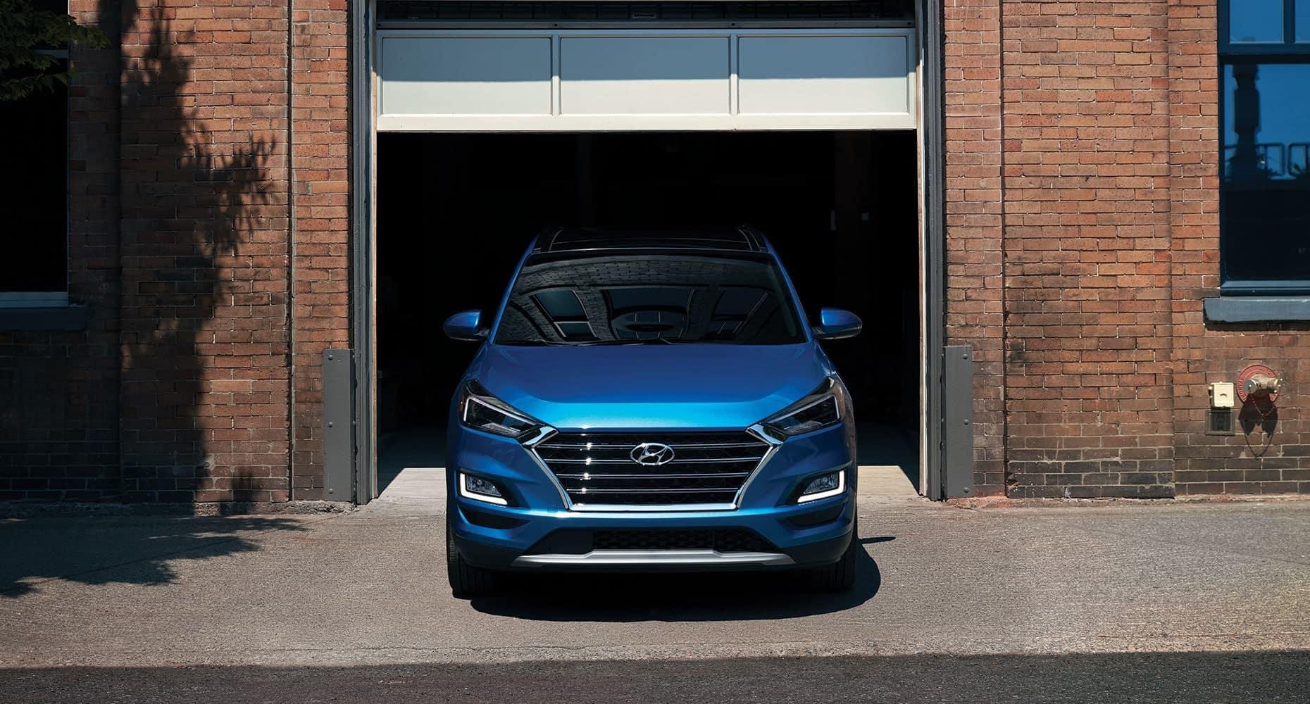 2019 Hyundai Tucson front exterior