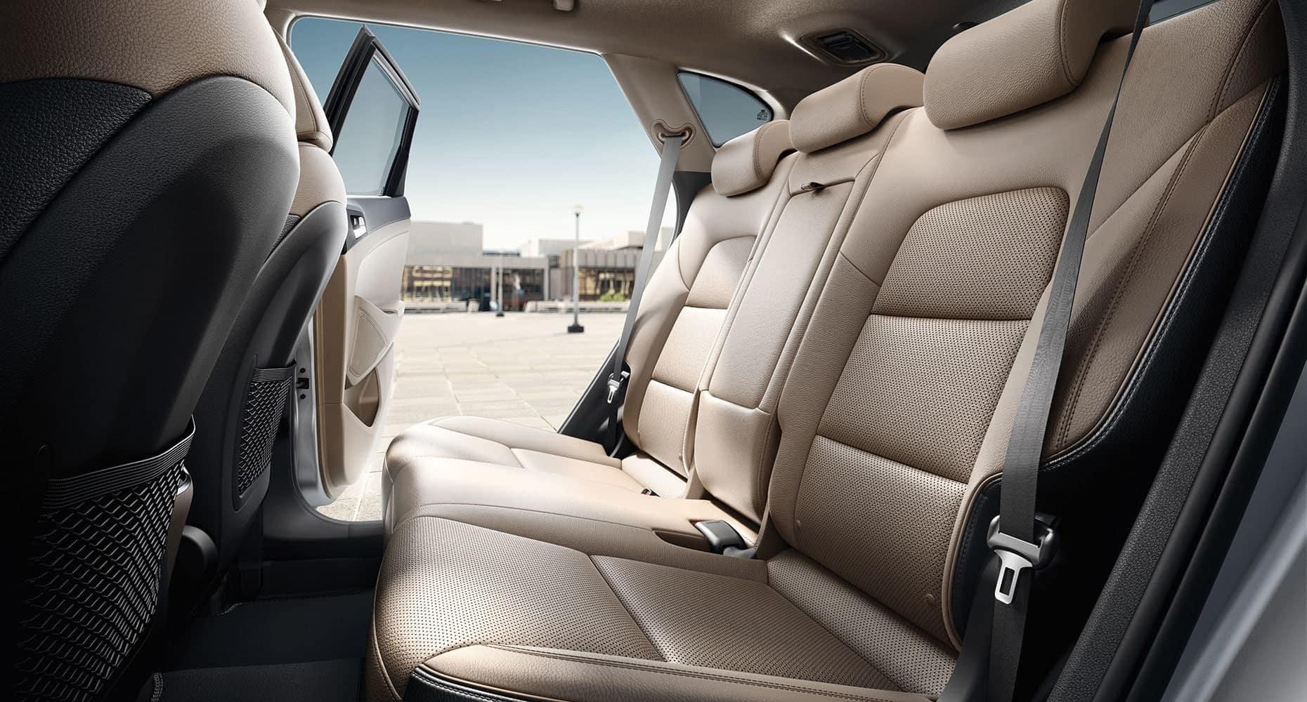 2019 Hyundai Tucson rear interior