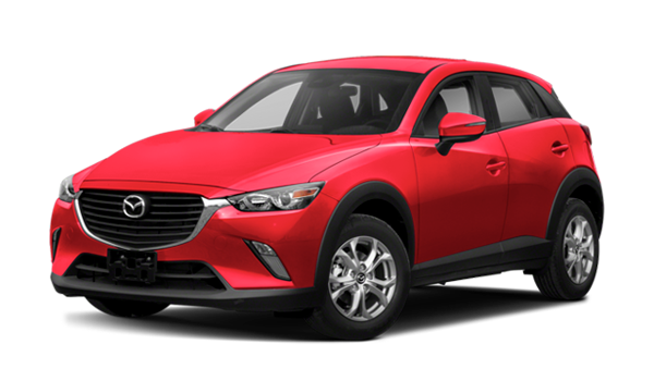 Red 2018 Mazda CX-3