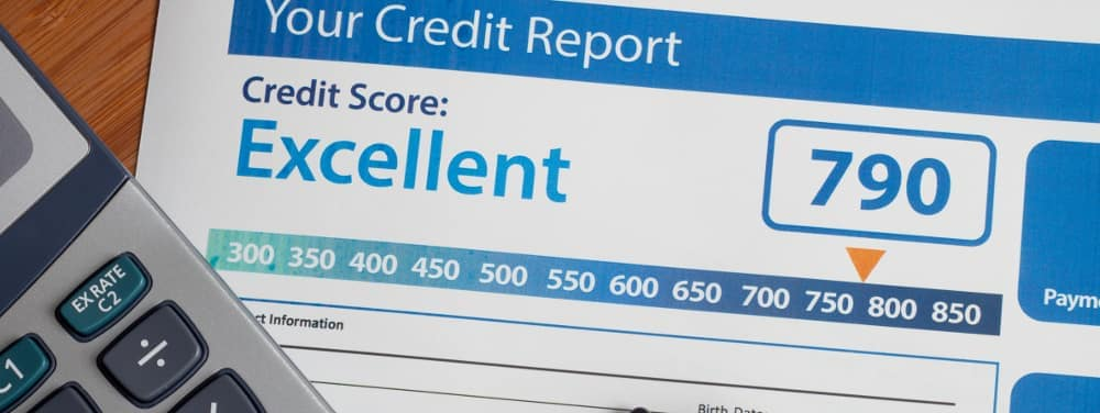Credit-report-with-good-score