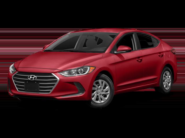 Red 2018 Hyundai Elantra LE Auto