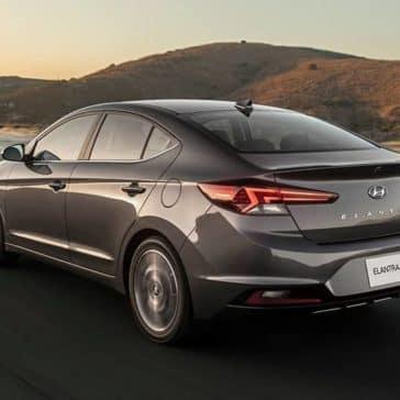 2020 Hyundai Elantra CA Rear