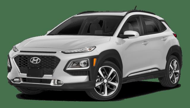 White 2019 Hyundai Kona thumbnail