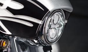 2015 CVO Street Glide headlight
