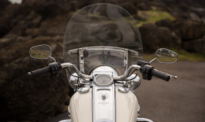 2015 Touring Road King closeup