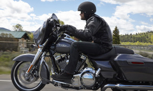 2015 Touring Street Glide with rider