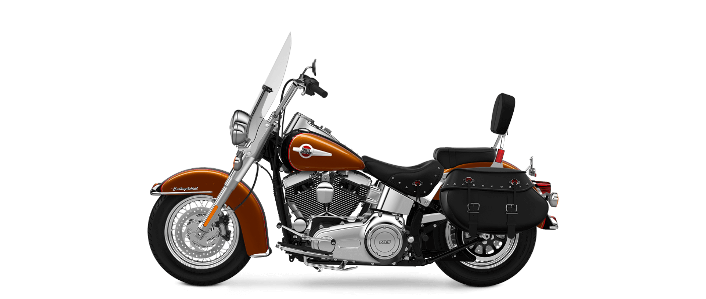 2016 Heritage Softail Classic Amber-Black