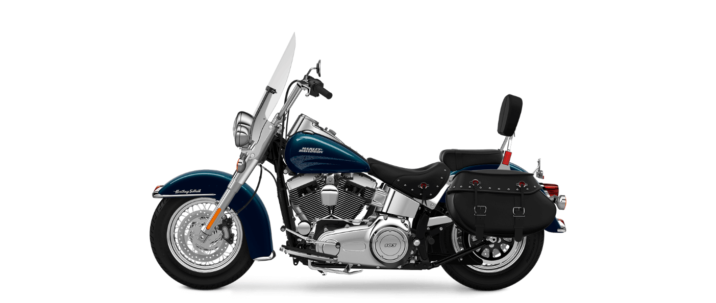 2016 Heritage Softail Classic Blue Pearl