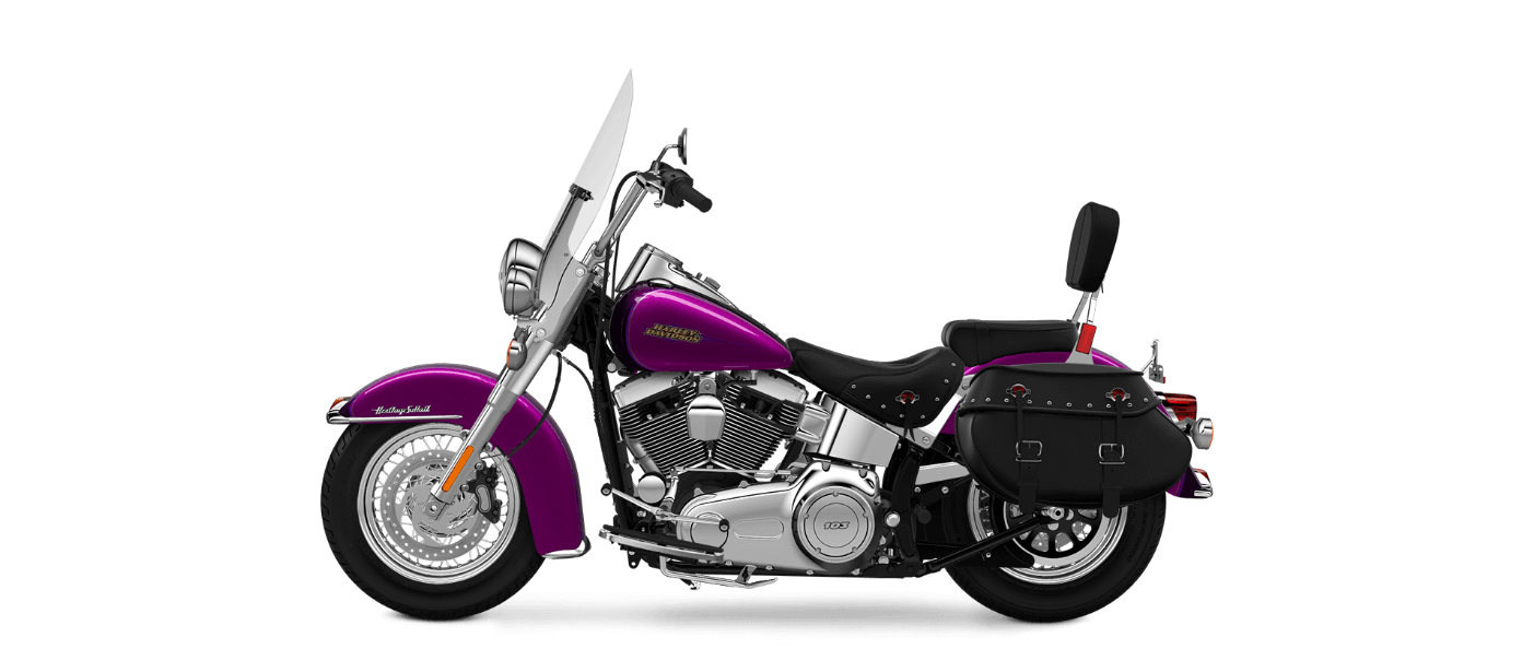 2016 Heritage Softail Classic Purple