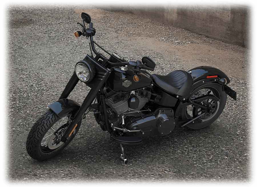 2016 softail slim black