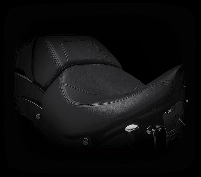 Harley-Davidson Fat Boy S seat