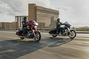 Riders on 2016 Street Glide