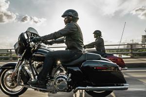 Rider on 2016 Street Glide