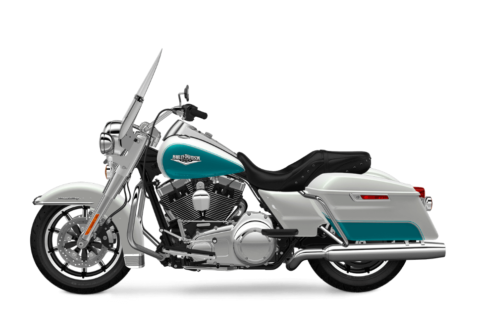 2016 Road King Crushed Ice Pearl transparent