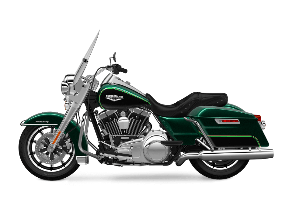 2016 Road King Deep Jade Pearl transparent