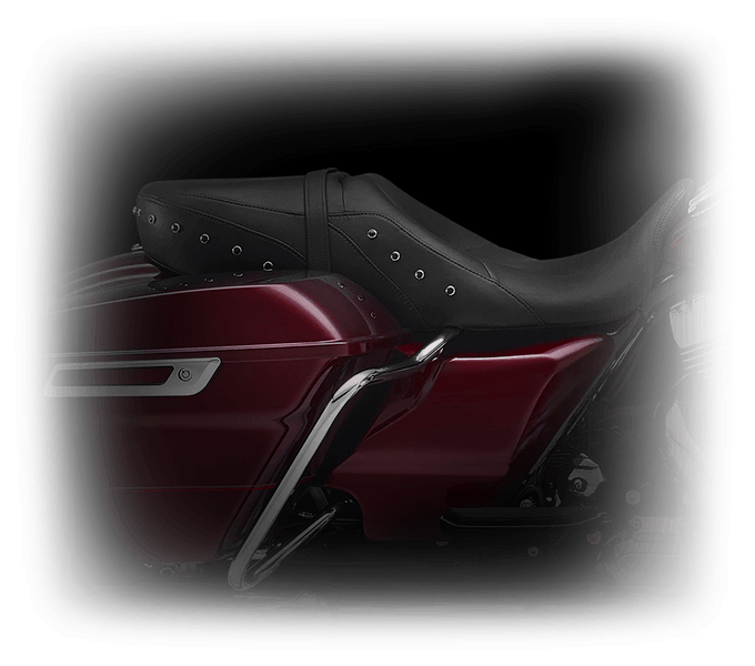 2016 Road King Features Seat