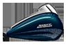2016 Street Glide Special Tank Blue