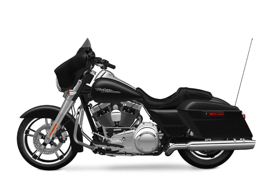 2016 Street Glide TP black denim