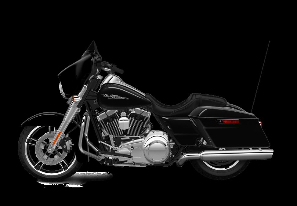 2016 Street Glide TP vivid black