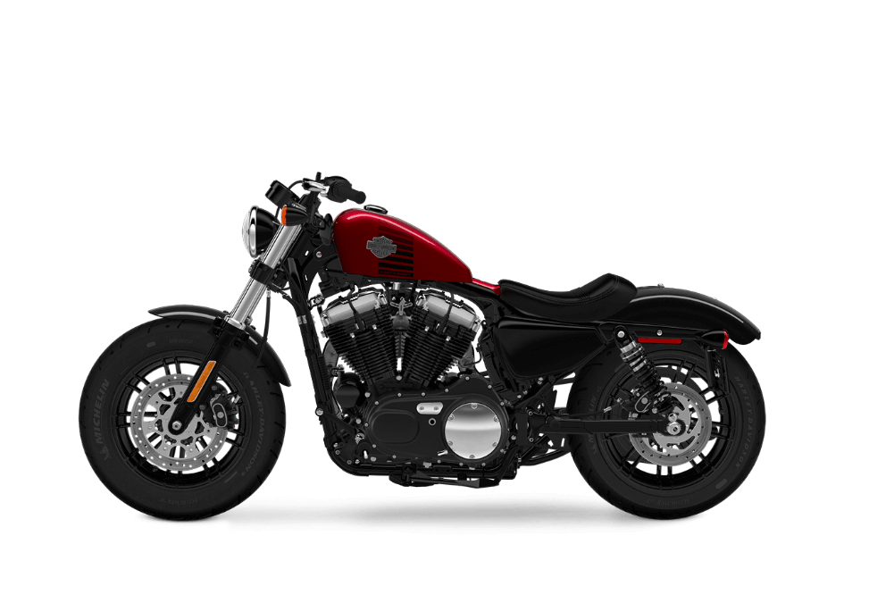 Harley-Davidson Forty Eight Velocity Red Sunglo
