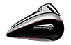 electra glide ultra classic billet silver: black paint