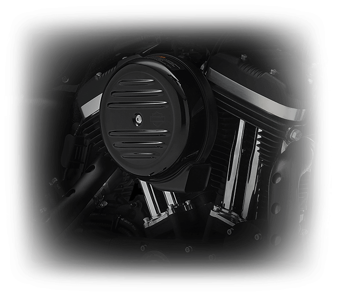 2016 Iron 833 Iconic Engine Feature