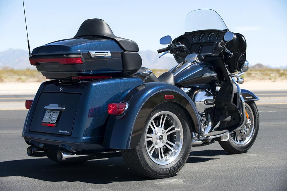 2016 Harley Davidson Tri Glide Ultra Gallery 619474: 2016 Harley-Davidson® Tri-Glide® Ultra: Confidence And