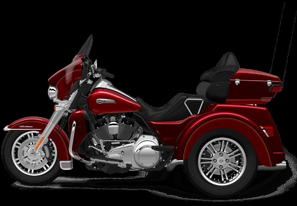 The 2016 Harley Davidson Tri Glide Ultra Provides Three: 2016 Harley-Davidson® Tri-Glide® Ultra: Confidence And