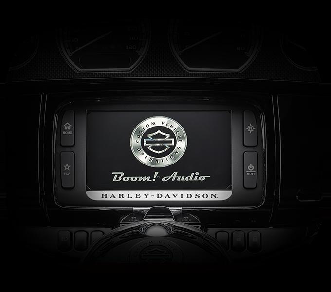 Harley-Davidson CVO™ Limited infotainment