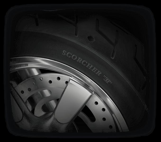 Harley-Davidson® 1200 Custom handling