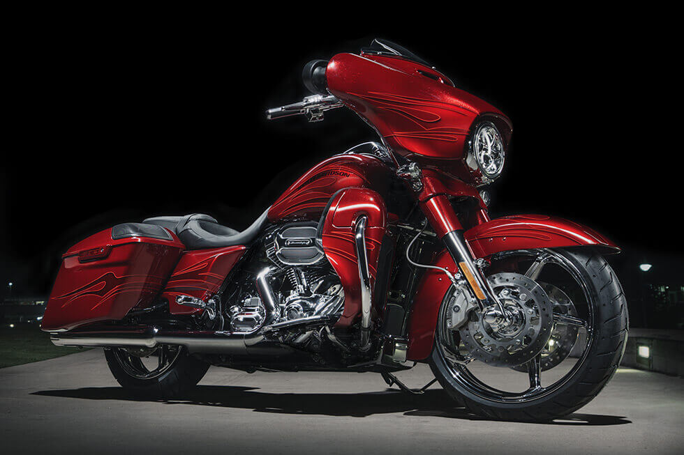 The 2016 Harley-Davidson CVO™ Street Glide®: Touring in Style