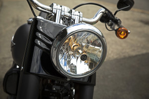 2016 Softail Fat Boy Lo headlamp