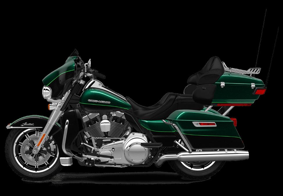 Harley-Davidson Ultra Limited Deep Jade