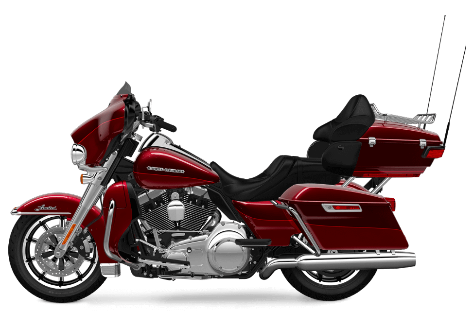 Harley-Davidson Ultra Limited Red Sunglo