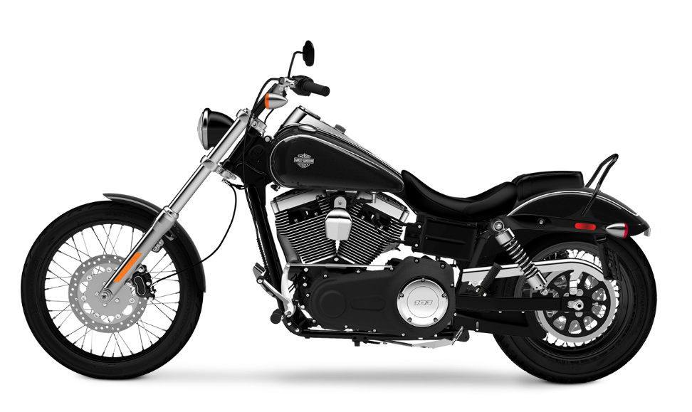 The Harley-Davidson Wide Glide® vs  the Softail® Deluxe