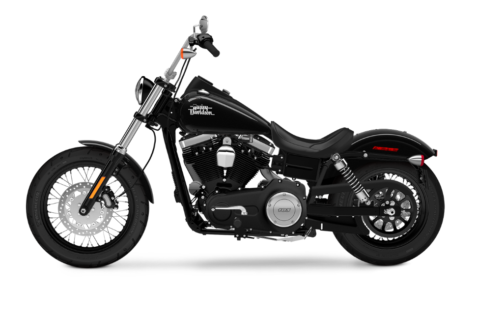 The 2016 Harley-Davidson Street Bob® vs. the 2016 Fat Boy®