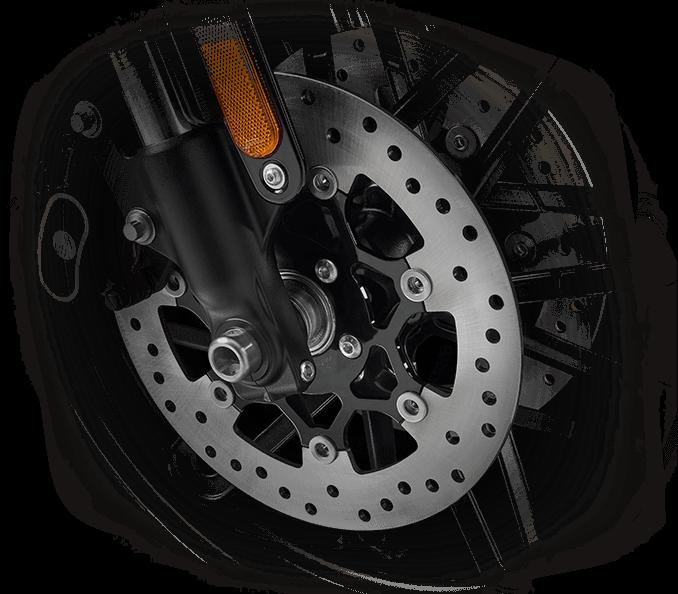 2016 Harley-Davidson Roadster front brake