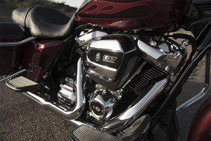 2017 Harley-Davidson® Road King® engine