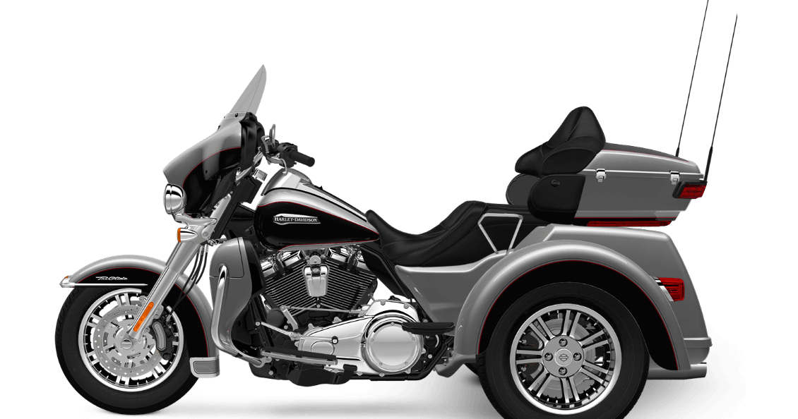 Billet Silver 2017 Harley-Davidson Tri Glide Ultra